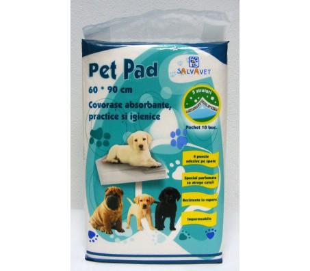 Covorase absorbante pentru caini Pet Pad, 60x90 cm, 10 bucati