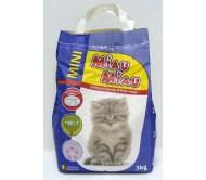 NISIP pentru pisici MIAU MIAU MINI LAVANDA 3KG