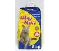 NISIP pentru pisici MIAU-MIAU 6 KG