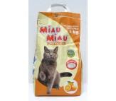 NISIP pentru pisici MIAU-MIAU PORTOCALA 6 KG