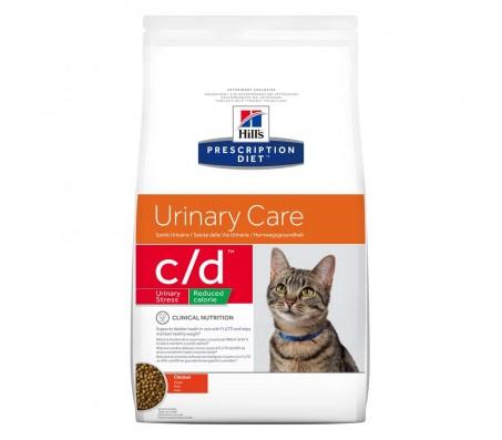 Hill's PD c/d Urinary Stress Reduced Calorie Urinary Care hrana pentru pisici 1.5 kg