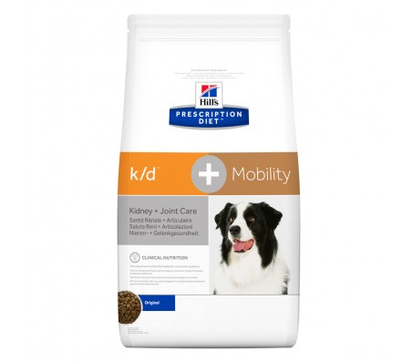 Hill's k/d +Mobility Kidney + Joint Care hrana pentru caini 5 kg