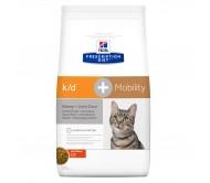 Hill's PD k/d + Mobility Kindney + Joint Care hrana pentru pisici 2 kg