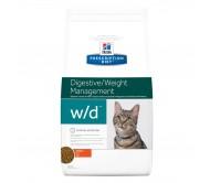 Hill's PD w/d Digestive, Weight Management hrana pentru pisici 1.5 kg