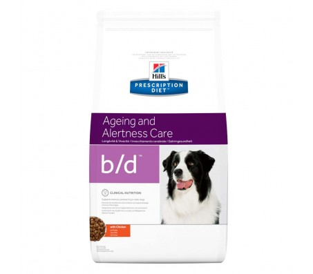 Hill's PD b/d Ageing and Alertness Care hrana pentru caini 12 kg