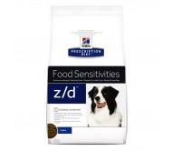 Hill's PD z/d Food Sensitivities hrana pentru caini 10 kg