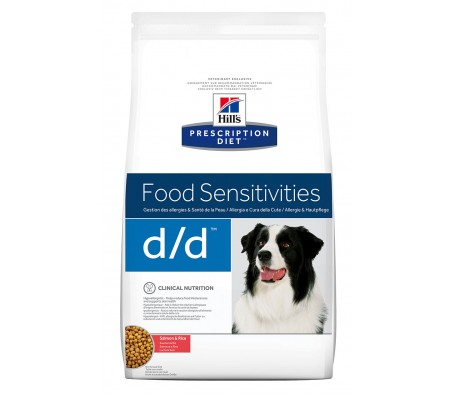 Hill's Prescription Diet Canine d/d cu somon si orez 2 kg