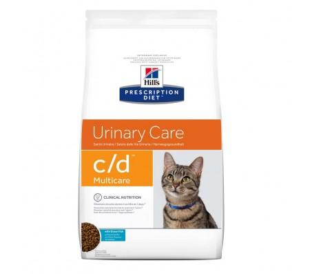 Hill's PD c/d Urinary Care hrana pentru pisici cu peste oceanic 1.5 kg