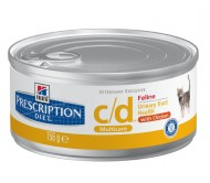 Hill's Prescription Diet Feline c/d cu pui 156 g
