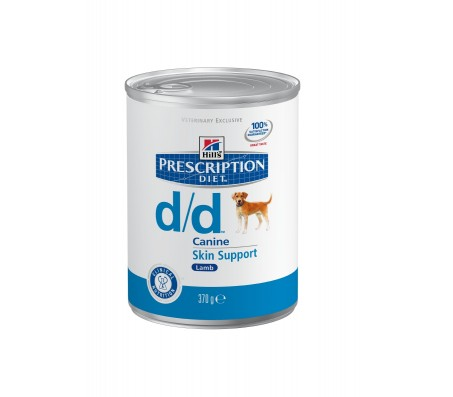 Hill's Prescription Diet Canine d/d cu miel si orez 370 g