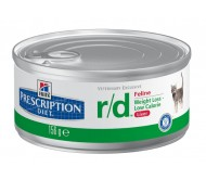 Hill's Prescription Diet Feline r/d minced cu pui 156 g