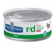 Hill's Prescription Diet Feline r/d minced cu pui 156 g