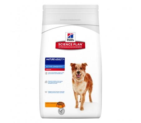 Hill's SP Mature Adult 7 Plus Active Longevity Medium hrana pentru caini cu pui 3 kg