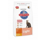 Hill's Science Plan Feline Adult Light cu Pui 10 kg