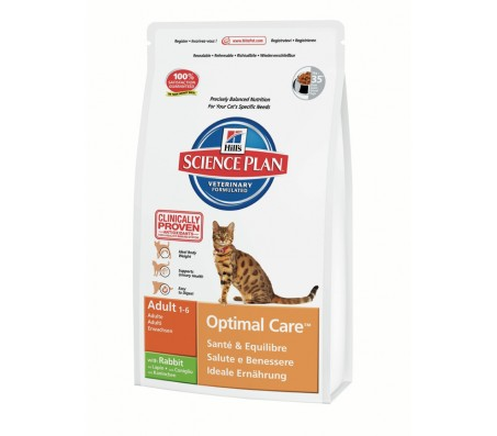 Hill's Science Plan Feline Adult cu Iepure 400 g