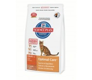 Hill's Science Plan Feline Adult Optimal Care cu Miel 400 g