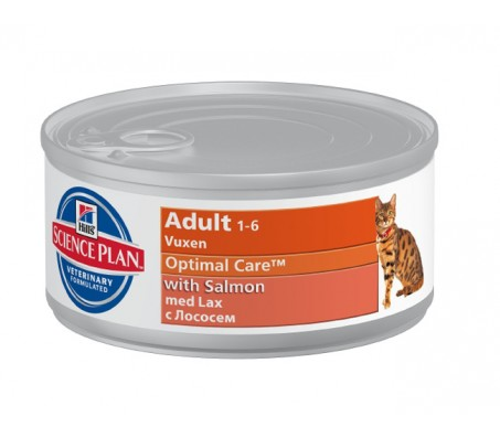 Hill's Science Plan Feline Adult cu Somon 85 g