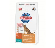 Hill's Science Plan Feline Adult Optimal Care cu Ton 400 g