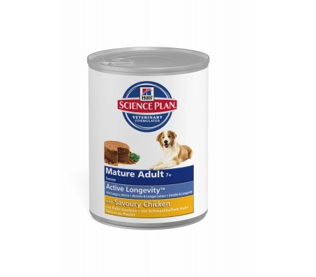 Hill's Science Plan Canine Mature Adult 7+ Senior cu pui 370 g