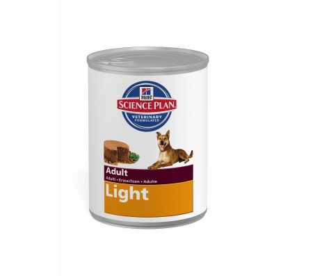Hill's Science Plan Canine Adult Light cu pui 370 g