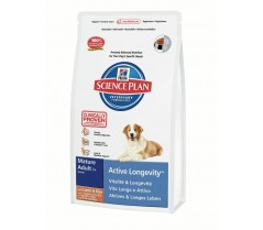 Hill's Science Plan Canine Active Longevity Mature Adult 7+ cu Miel si Orez 12 kg