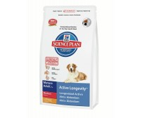 Hill's Science Plan Canine Active Longevity Mature Adult 7+ Mediu cu Pui 12 kg