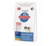 Hill's Science Plan Canine Active Longevity Mature Adult 7+ Mini cu Pui 7,5 kg
