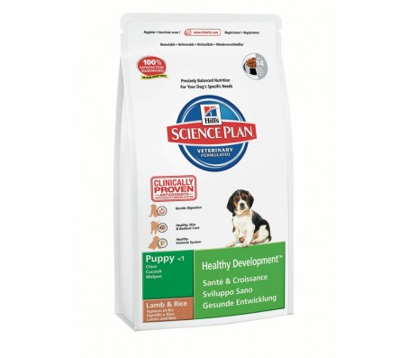 Hill's Science Plan Puppy Healthy Development cu miel si orez 3 kg