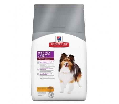 Hill's SP Adult Sensitive Stomach & Skin hrana pentru caini 12 kg