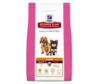 Hill's SP Adult Small and Miniature Light hrana pentru caini cu pui 1.4 kg