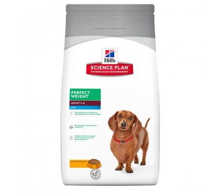 Hill's SP Perfect Weight Adult Mini hrana pentru caini 2 kg