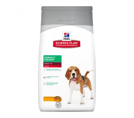 Hill's SP Perfect Weight Adult Medium hrana pentru caini 10 kg