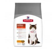 Hill's SP Adult Hairball Control hrana pentru pisici cu pui 1.5 kg