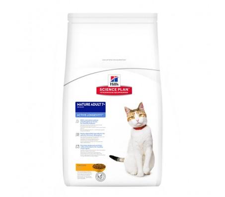 Hill's SP Mature Adult 7 Plus Active Longevity hrana pentru pisici cu pui 5 kg