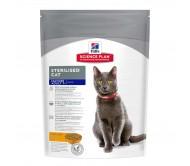 Hill's SP Mature Adult Sterilised Cat hrana pentru pisici cu pui 300 g