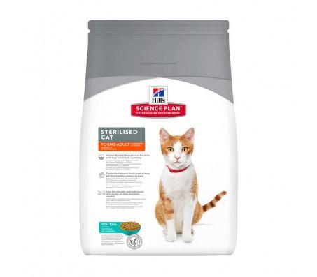 Hill's SP Sterilised Cat Young Adult hrana pentru pisici cu ton 8 kg